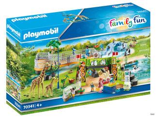 """Bei der Bestellung im Onlineshop der-Wegweiser erhalten Sie das Playmobil Paket 70341 """"Mein grosser Erlebnis-Zoo""""."""