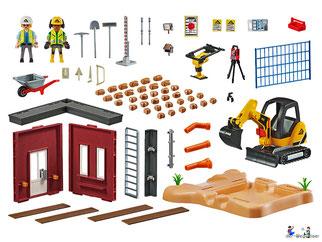 Im Paket Playmobil 70443 sind über 117 Playmobil Einzelteile enthalten.