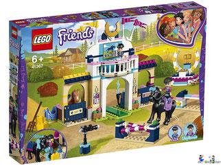 """Bei Bestellung im Onlineshop der-Wegweiser erhalten Sie das Lego Paket 41367 """"Stephanies Reitturnier""""."""