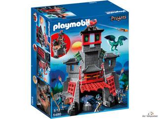 """Bei der Bestellung im Onlineshop der-Wegweiser erhalten Sie das Playmobil Paket 5480 """"Geheime Drachenfestung""""."""
