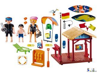 Im Paket Playmobil 70090 sind über 73 Einzelteile enthalten.