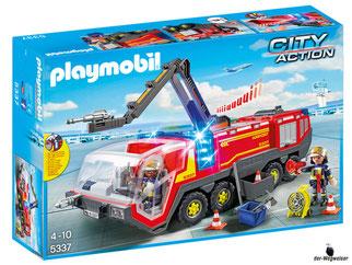 """Bei der Bestellung im Onlineshop der-Wegweiser erhalten Sie das Playmobil Paket 5337 """"Feuerwehr-Flughafenlöschfahrzeug mit Licht und Sound""""."""