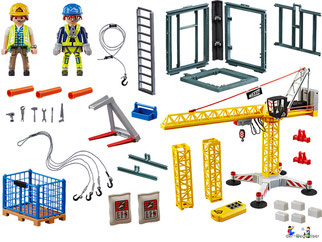 Im Paket Playmobil 70441 sind über 80 Playmobil Einzelteile enthalten.