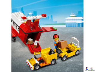 Die Besonderheit im Lego Paket 60261 ist eine grosse Heckklappe.