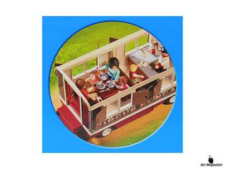 Das Besonderheit im Playmobil Paket 9398 ist eine abnehmbares Dach.
