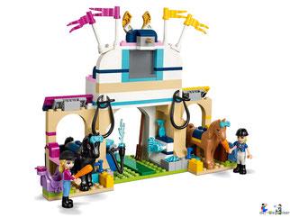 Im Paket Lego 41367 Stephanies Reitturnier sind 337 Einzelteile enthalten.
