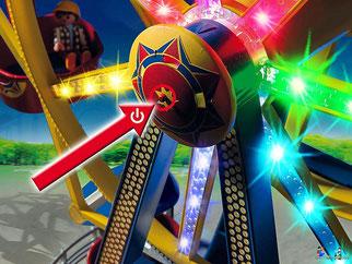 Die Besonderheiten im Playmobil Paket 5552 ist die bunte Beleuchtung.