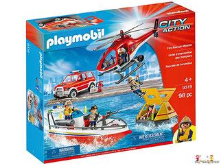 """Bei der Bestellung im Onlineshop der-Wegweiser erhalten Sie das Playmobil Paket 9464 """"Rüstfahrzeug mit Licht und Sound""""."""