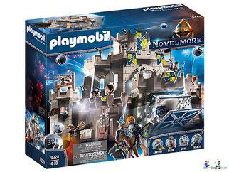 """Bei der Bestellung im Onlineshop der-Wegweiser erhalten Sie das Playmobil Paket 70220 """"Grosse Burg von Novelmore""""."""