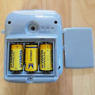 ingenuity wippe batterien
