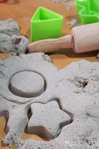 Kinetic Sand Bäckerei