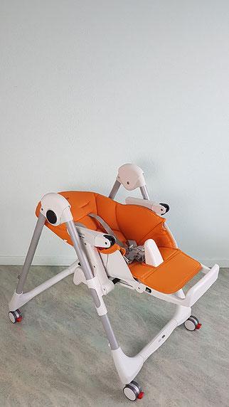 Baby Hochstuhl mit Liegefunktion Test, Peg Perego ab Geburt