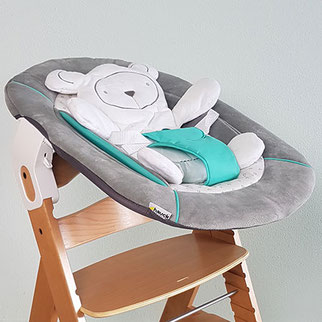 2 in 1 Babywippe, Babywippe Empfehlung, Hochstuhl-Wippe