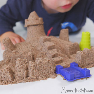 kinetischer sand test, test kinetischer sand