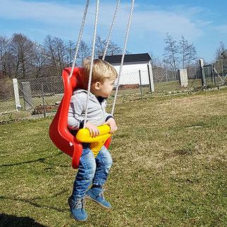 Kinderschaukel Test, Kleinkinderschaukel Test