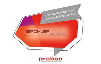 Birchler Rahmen und Kunst Einsiedeln