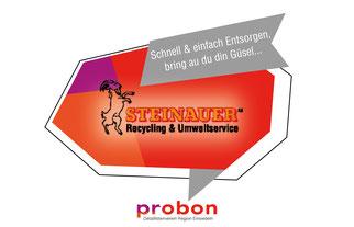 Steinauer Recycling und Umweltservice Einsiedeln