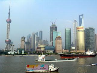 Shanghai Bund, an 2000