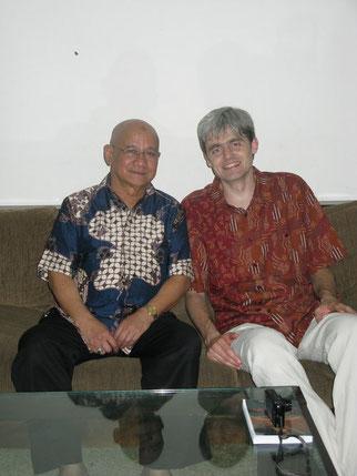 PANGERAN (PRINCE) SYARIF MAX YUSUF ALKADRIEet le Dr. MARTIN