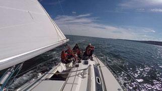 voilier en naviguation