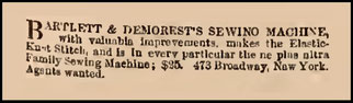 July - August 1866 Advertisements