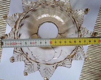 Coppa-o-Tazza-ricambio-per-lampadario-in-vetro-di-murano