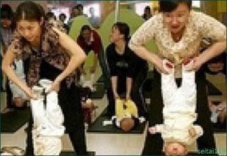 Baby Yogaベビーヨガは危険な行為