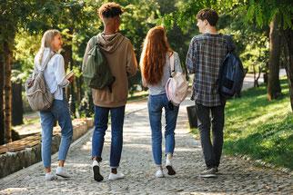 Séance de sophrologie pour les adolescents