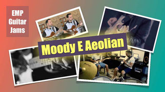 Moody E Aeolian Backing Track