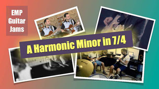 A Harmonic Minor Backing Track in 7/4