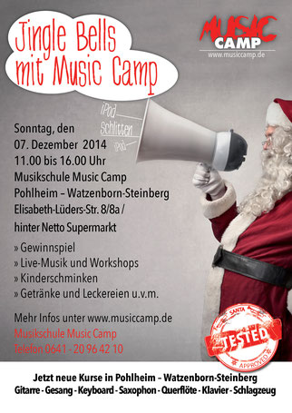 Jingle Bells mit Music Camp - 07.12.2014