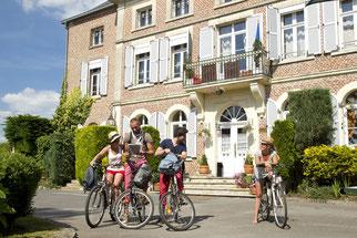 Hôtel restaurant Etéaupont 02580- accueil vélo