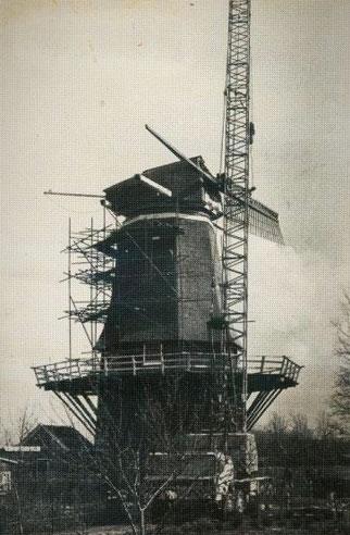 1974/ 1975 Renovatie 'De Pionier' in Slagharen.