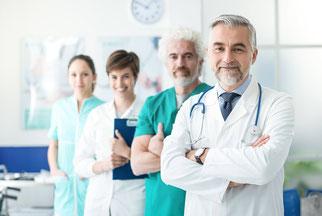 Bild Gesundheitswesen-Branche