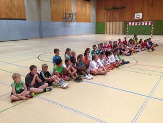 Zahlreiche Kinder nahmen am 10. VS Handballturnier teil!