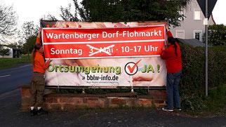 Dorf-Flohmarkt Absage · Foto→ Constanze Keller