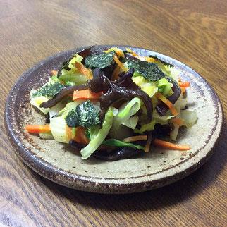 中華風温サラダ