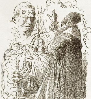 Teckning av Mikolas Ales