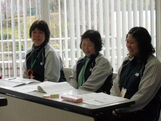 講師の3名。ご協力ありがとうございました
