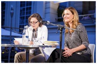 Dr. Daniela Strigl und Ingrid Kaltenegger