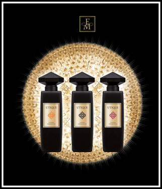 UTIQUE PARFÜM, Eleganz Luxus Parfüm Parfum ,ätheriesche Öle, Parfüm wie Gold,UTIQUE GOLD,Leidenschaft Glas