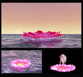 Flower  ステージ スカイドーム MMD  skydome