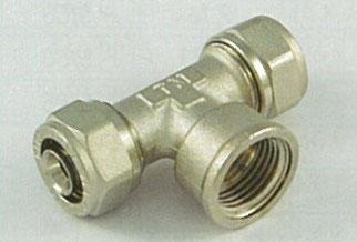 温水暖房用ヘッダー 銅管継手