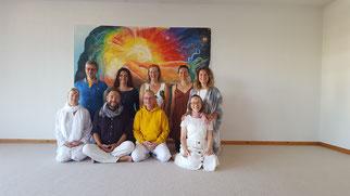 Die 4. Yin Yogalehrerausbildung mit Marc Gerson als Assistent. In Zukunft ist Akim mit dabei.