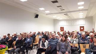 Près de 100 adhérents participent à l'AG