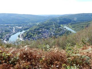 La boucle de la Meuse à Monthermé