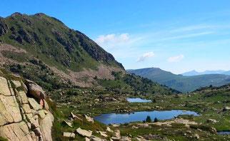 sortie randonnee montagne découverte des hauts d'ariege pyrenees babeth