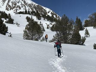 journée raquettes randonnée montagne ariege
