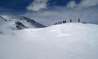 sortie randonnée raquettes la nordique pyrenees ariege