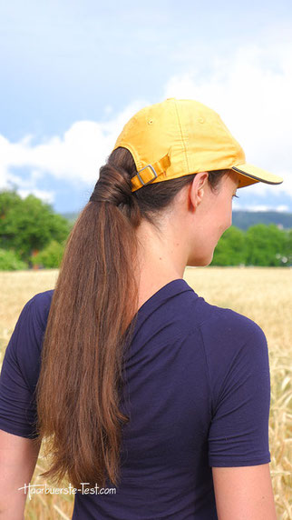 frisuren mit cap